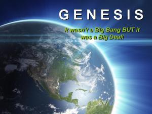 Genesis Series Logo